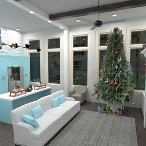 floorplans decor living room kitchen 3d