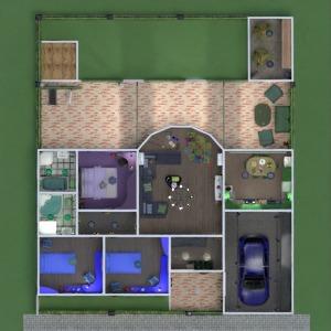 планировки дом терраса мебель декор ванная спальня гостиная гараж кухня детская хранение прихожая 3d
