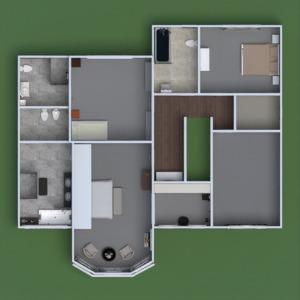 floorplans casa arquitectura descansillo 3d