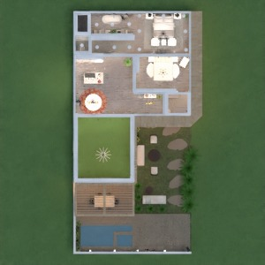 floorplans house decor outdoor lighting architecture 3d