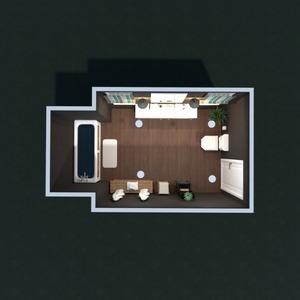 floorplans bathroom architecture 3d