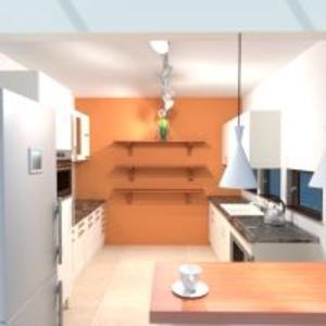 progetti cucina illuminazione 3d