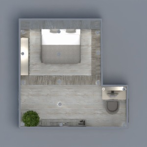 floorplans camera da letto 3d
