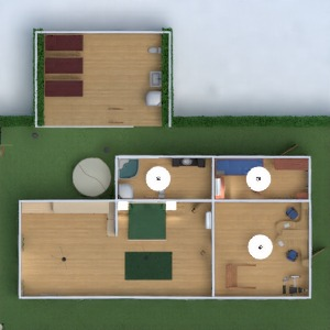 planos casa muebles decoración dormitorio salón garaje cocina iluminación 3d