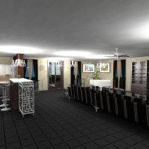 floorplans namas vonia virtuvė eksterjeras valgomasis 3d