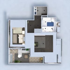 planos apartamento muebles decoración bricolaje cuarto de baño dormitorio salón cocina iluminación reforma hogar trastero estudio descansillo 3d