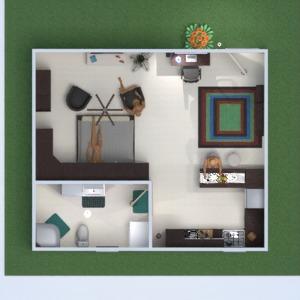 floorplans house furniture decor bedroom kitchen architecture storage 3d