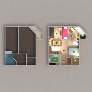 floorplans butas terasa baldai dekoras vonia miegamasis svetainė virtuvė apšvietimas renovacija namų apyvoka valgomasis аrchitektūra sandėliukas prieškambaris 3d