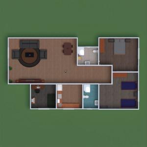 floorplans butas namas baldai dekoras pasidaryk pats vonia miegamasis virtuvė vaikų kambarys namų apyvoka аrchitektūra 3d