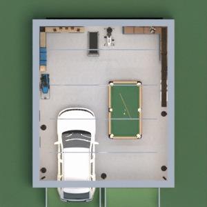 progetti casa saggiorno garage illuminazione architettura 3d