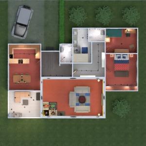 floorplans butas namas vonia miegamasis svetainė virtuvė eksterjeras vaikų kambarys apšvietimas valgomasis аrchitektūra prieškambaris 3d