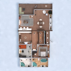 floorplans apartment terrace furniture decor diy bathroom bedroom kitchen lighting household architecture 3d