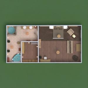 planos apartamento muebles decoración cuarto de baño dormitorio iluminación reforma paisaje arquitectura trastero 3d