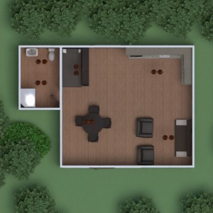 planos casa muebles decoración dormitorio salón cocina exterior iluminación paisaje comedor trastero 3d