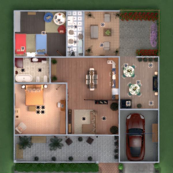floorplans casa veranda arredamento decorazioni angolo fai-da-te bagno camera da letto saggiorno garage cucina esterno illuminazione rinnovo paesaggio famiglia caffetteria sala pranzo architettura ripostiglio vano scale 3d
