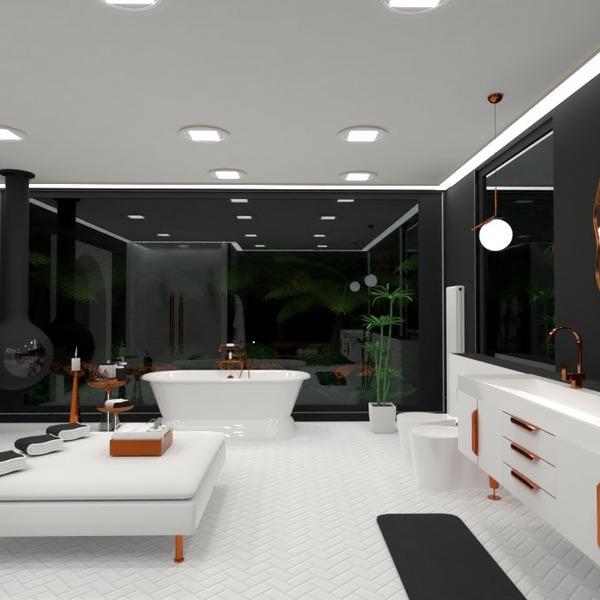 floorplans baldai dekoras vonia eksterjeras apšvietimas 3d