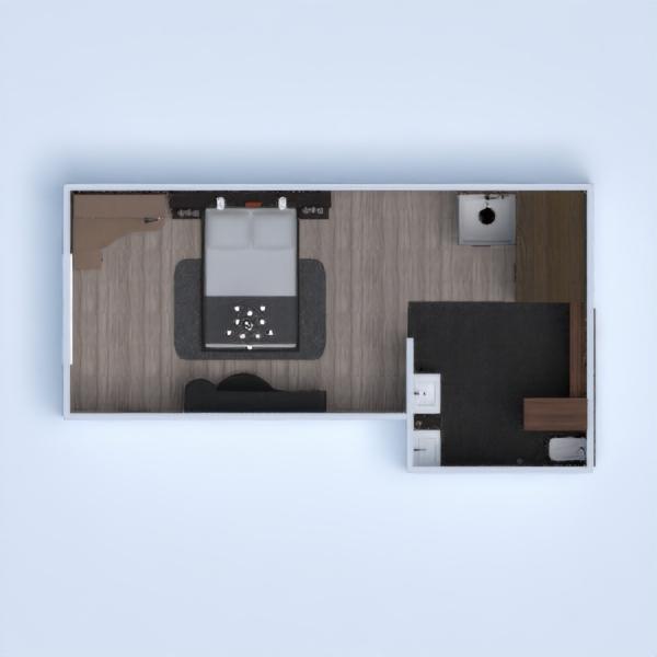 floorplans ванная спальня 3d