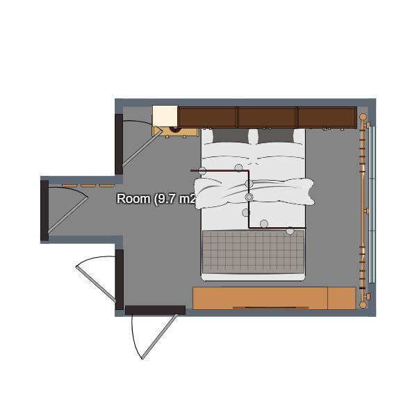 floorplans arredamento decorazioni angolo fai-da-te camera da letto ripostiglio 3d