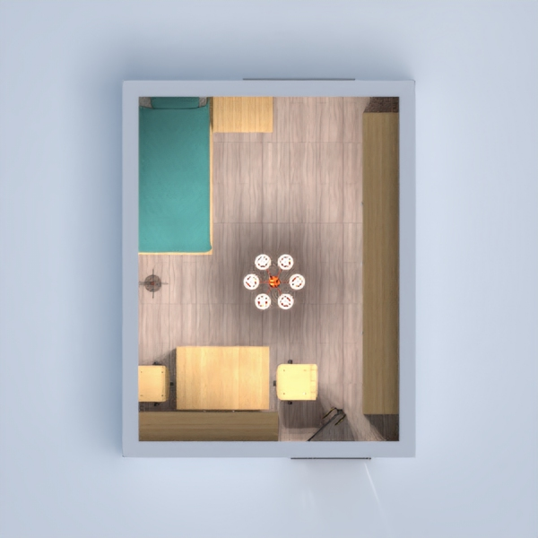 floorplans apartment furniture bedroom kids room 3d