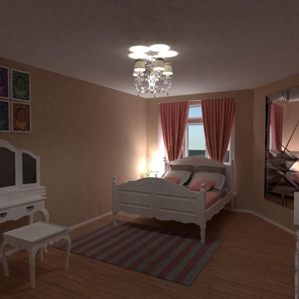 floorplans muebles dormitorio habitación infantil 3d