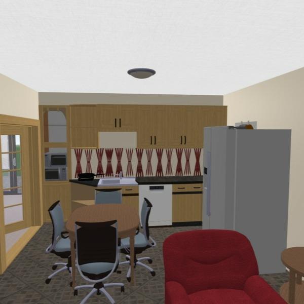 floorplans salon cuisine 3d