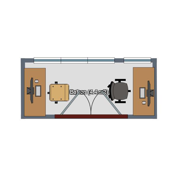 floorplans terrace office 3d