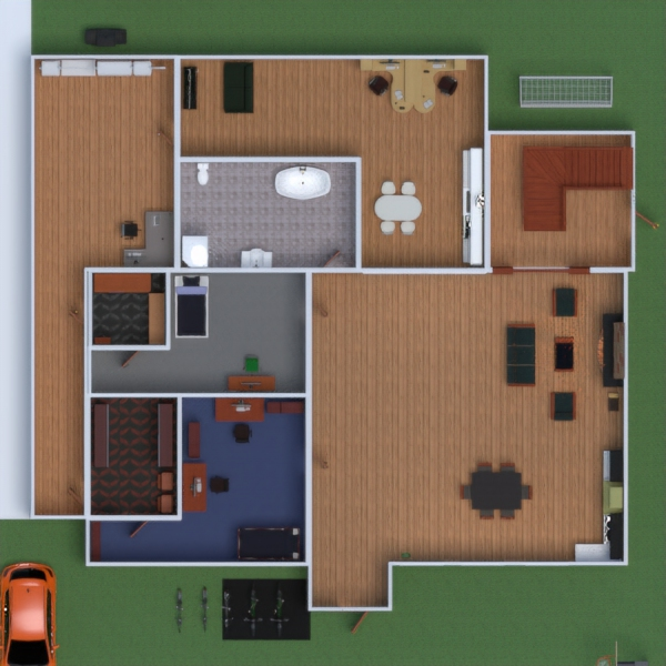 floorplans house bedroom kids room office dining room studio 3d
