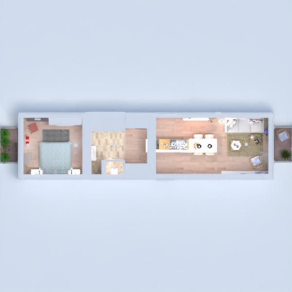 floorplans appartement décoration diy salon cuisine 3d