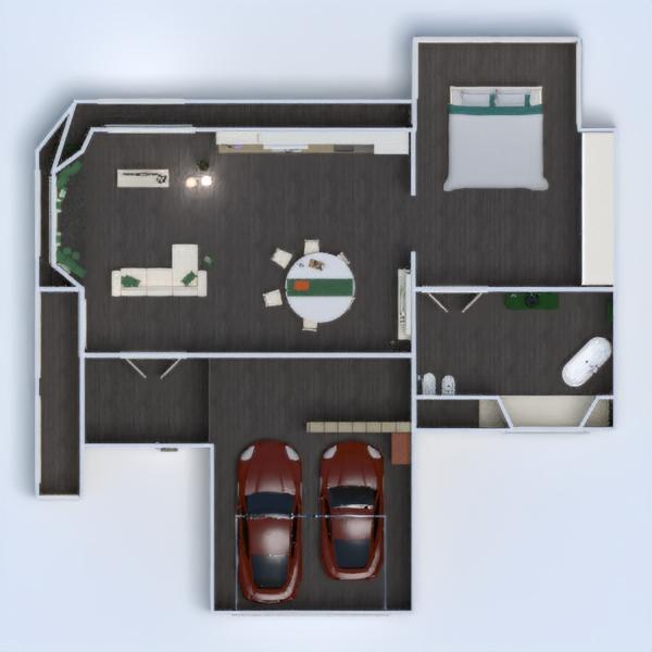 floorplans apartment furniture decor bathroom bedroom living room garage kitchen lighting dining room architecture 3d