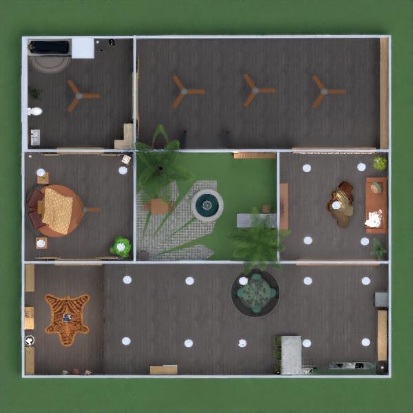 floorplans casa quarto quarto cozinha arquitetura 3d