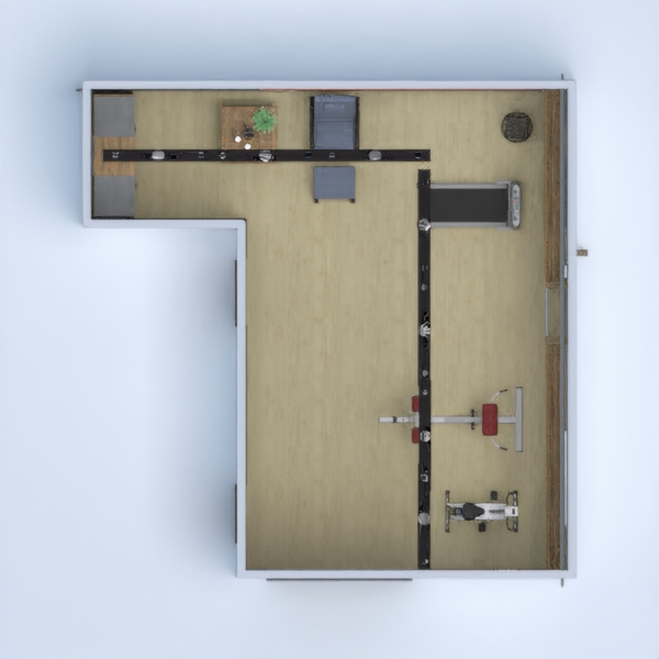 floorplans house terrace garage renovation studio 3d
