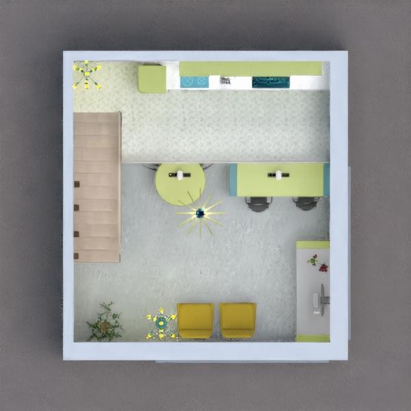 floorplans cuisine café 3d