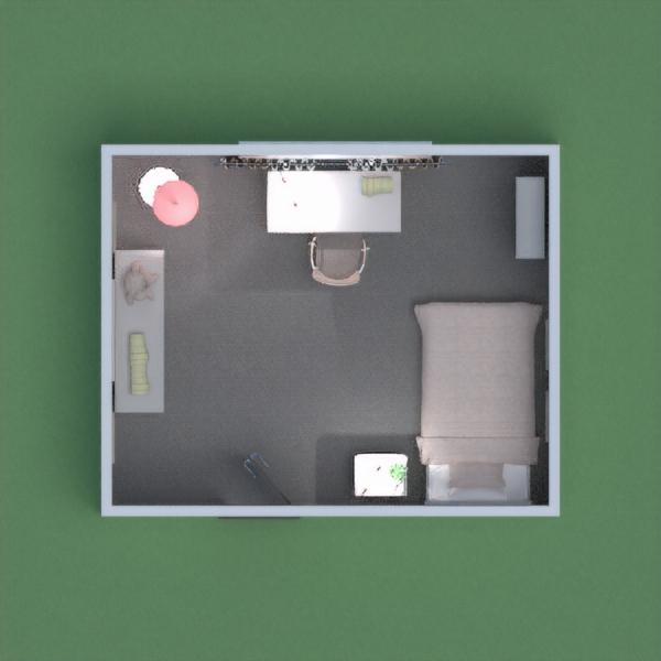 floorplans decoración dormitorio habitación infantil trastero 3d