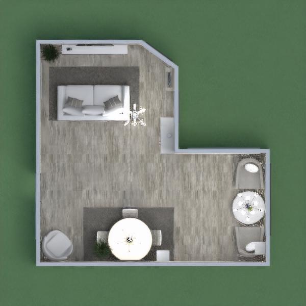 floorplans jadalnia 3d