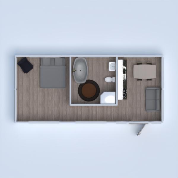 floorplans wohnung mobiliar dekor badezimmer schlafzimmer 3d