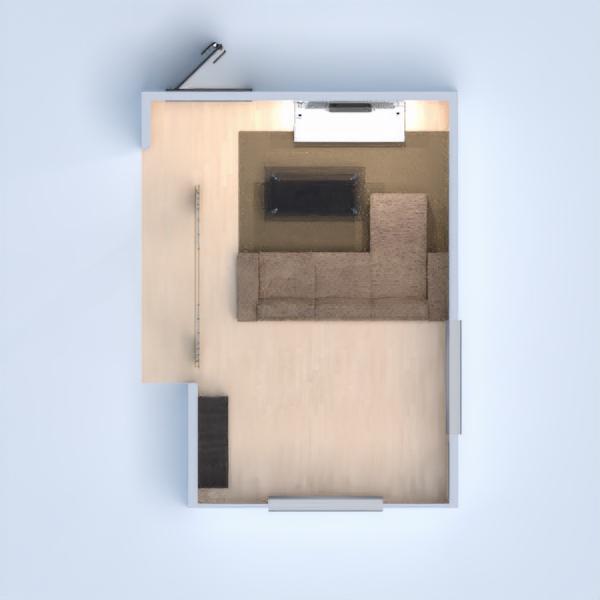 планировки дом мебель декор гостиная 3d