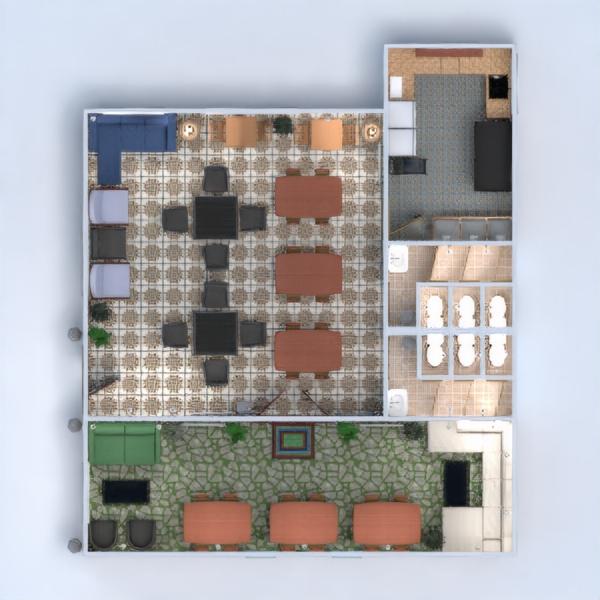 floorplans baldai virtuvė apšvietimas аrchitektūra sandėliukas 3d