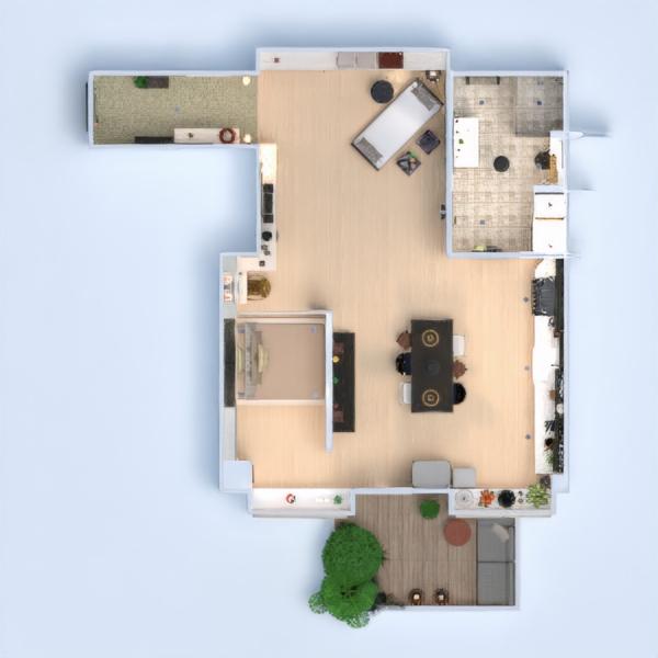 floorplans appartamento decorazioni angolo fai-da-te bagno cucina monolocale 3d