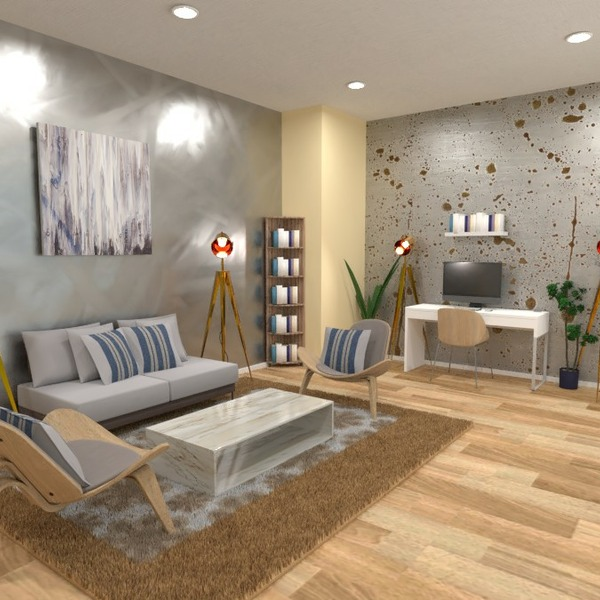 floorplans salon bureau 3d