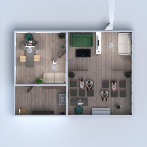планировки декор гостиная офис студия 3d