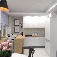 floorplans butas baldai dekoras virtuvė apšvietimas renovacija namų apyvoka valgomasis studija 3d