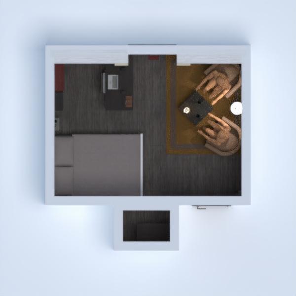 floorplans apartamento casa dormitorio 3d