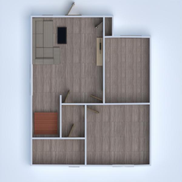 floorplans wohnung haus mobiliar 3d