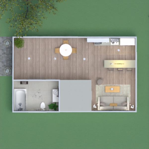 floorplans namas dekoras apšvietimas 3d