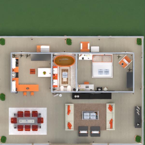 floorplans casa varanda inferior mobílias decoração faça você mesmo casa de banho quarto cozinha área externa iluminação reforma paisagismo utensílios domésticos cafeterias sala de jantar arquitetura patamar 3d