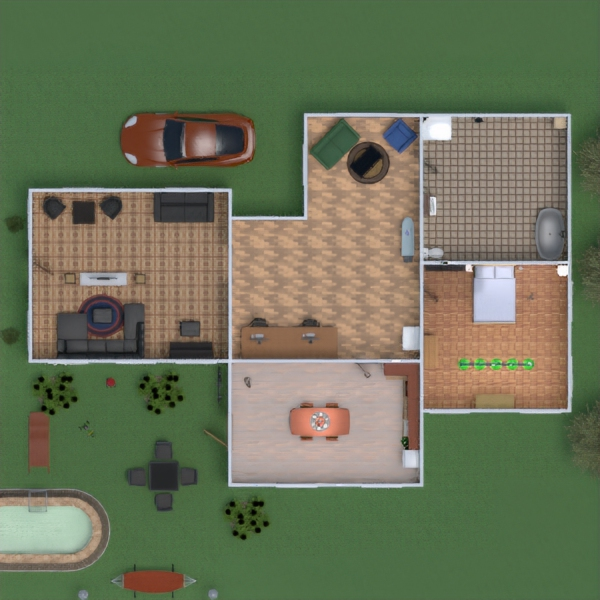 floorplans casa paisaje 3d