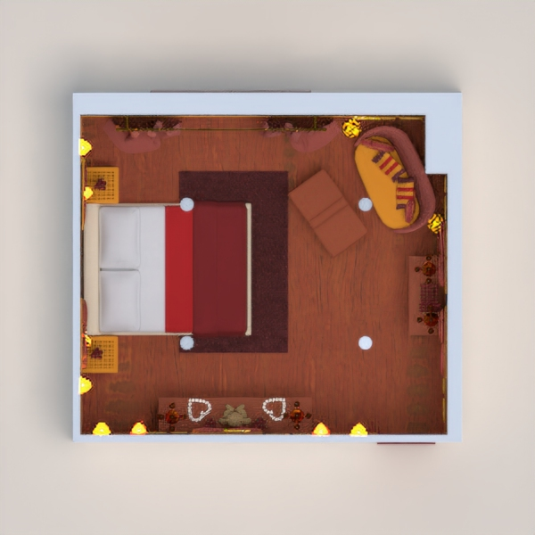 floorplans wystrój wnętrz sypialnia przechowywanie 3d