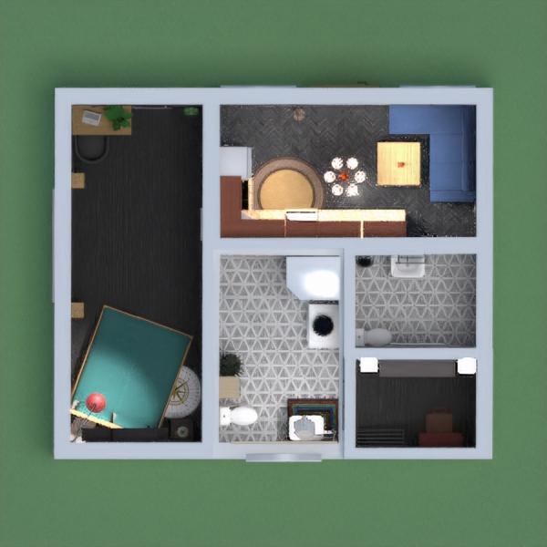 floorplans bathroom bedroom living room kitchen studio 3d