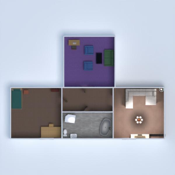 floorplans maison meubles diy salle de bains chambre à coucher 3d