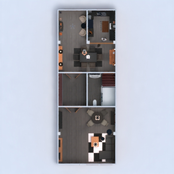 floorplans casa muebles decoración cocina comedor 3d